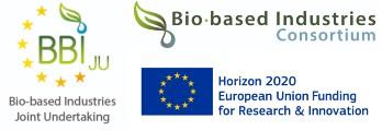 Logo Financeurs BBI-JU, Bio-based Industries, Union Européenne